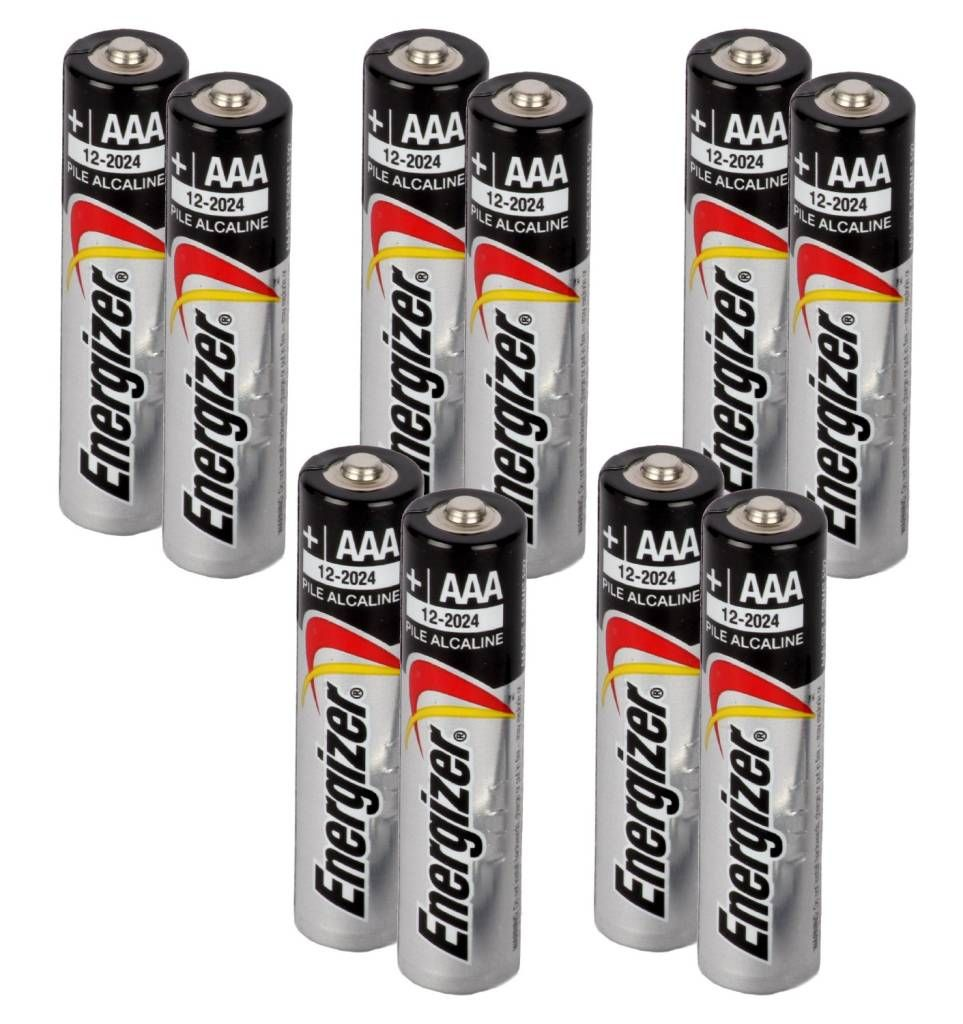Energizer Max Alkaline Battery E92bp2 Aaa X 5 Value Pack Total 10 Aaa Batteries At Rs 299 Alkaline Battery Energizer Aaa Batteries