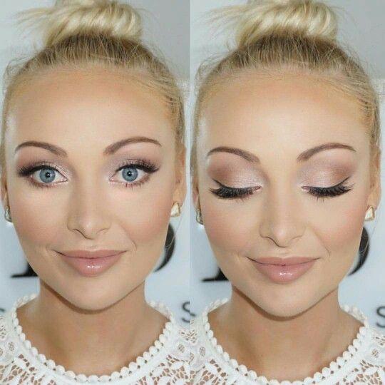 Wedding Makeup Ideas For Blue Eyes: Melissa Sassine Bridal Makeup
