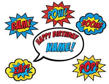 image regarding Superhero Cupcake Toppers Printable named Superhero Cake Topper PRINTABLE by way of BsquaredDesign upon Etsy