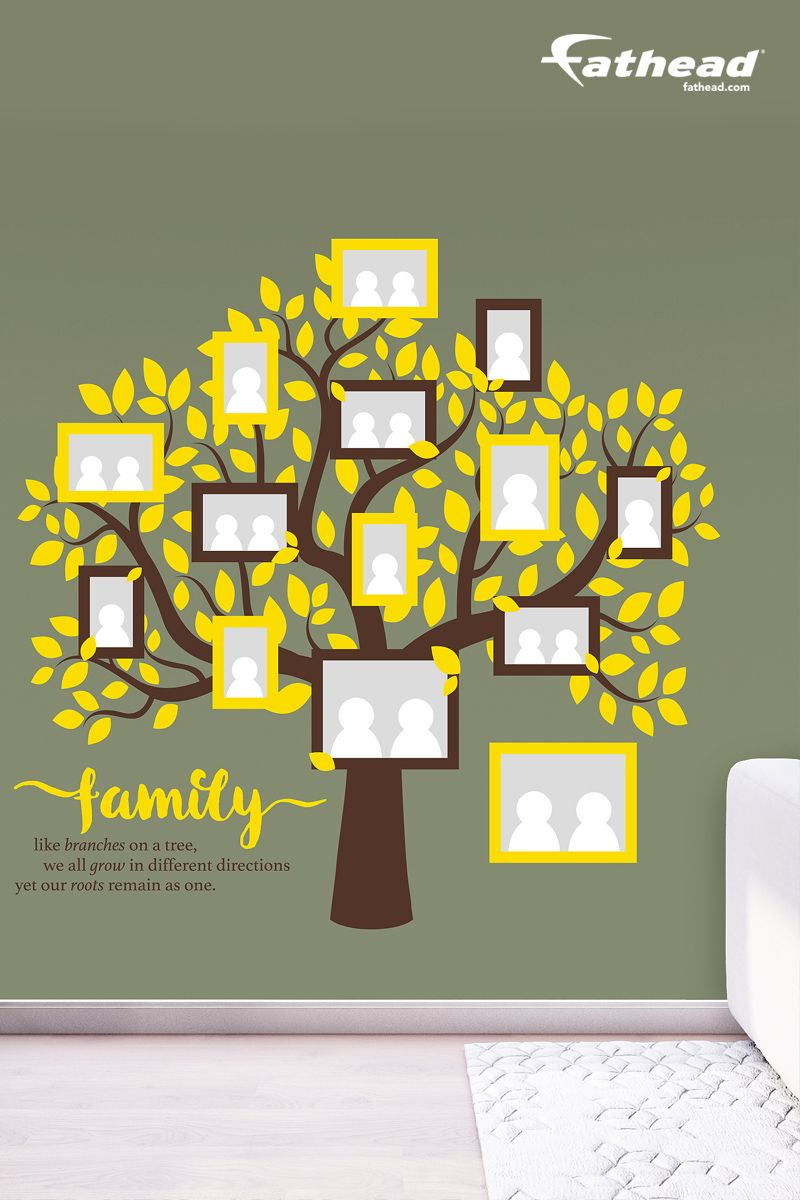 Family Tree | Family tree decal, Family office and Family trees