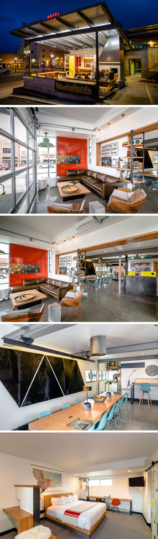 Thinktank Design Group have designed the Lark Hotel in Bozeman