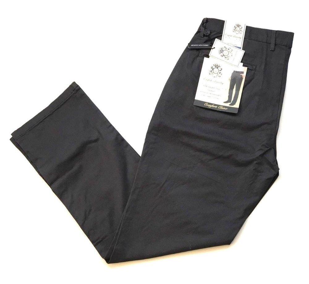 Nwt English Laundry Mens Straight Leg Flex Waist Comfort Pants