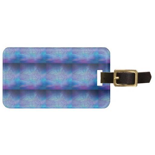 #Customizable luggage tag