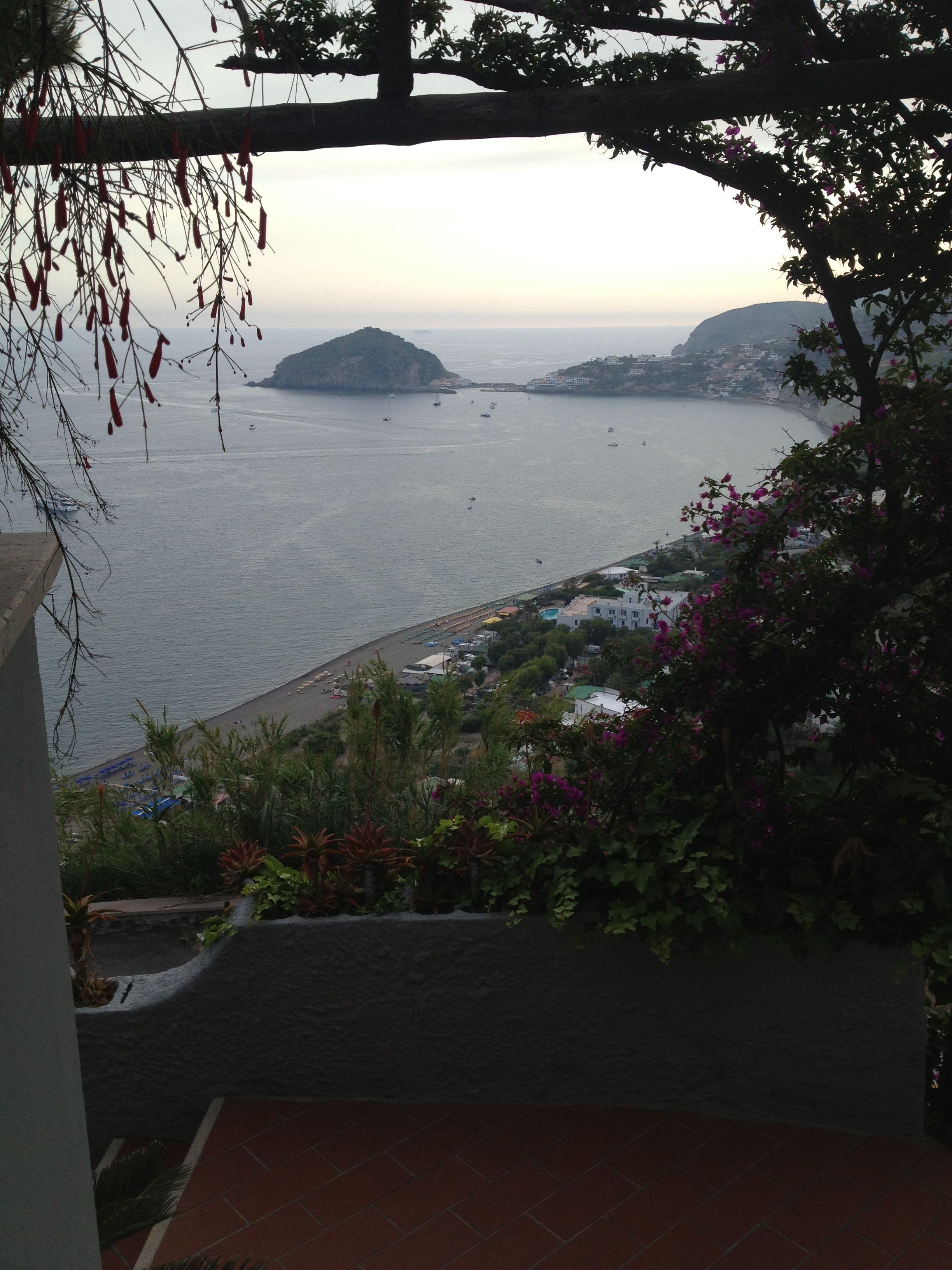 Panorama villa al mare