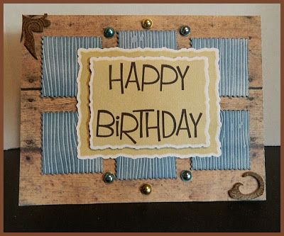 Masculine Birthday Cards Made With Cricut ~ Cricut men birthday cards th birthday card cards