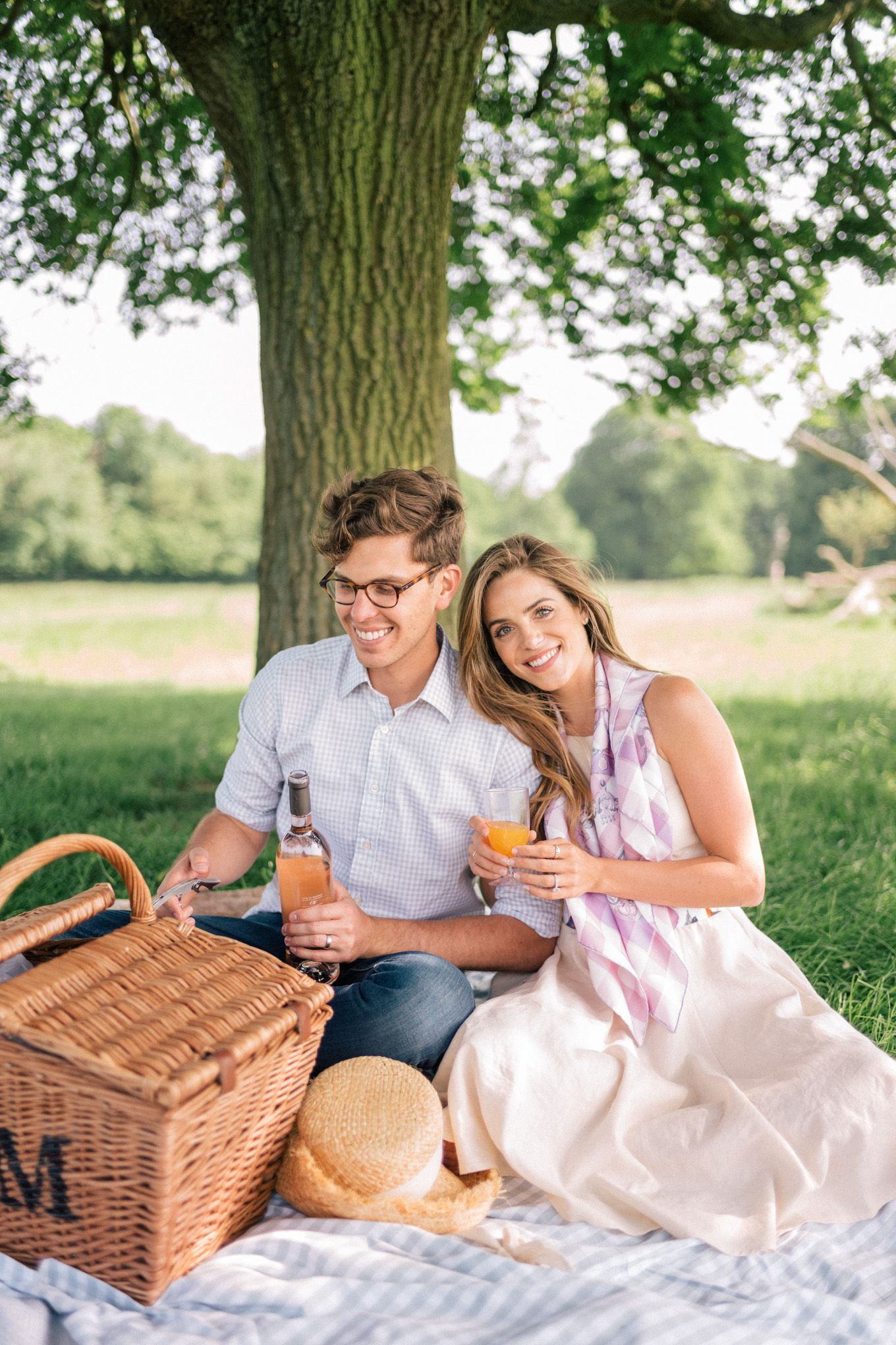 Picnic In Richmond Park, London - Gal Meets Glam