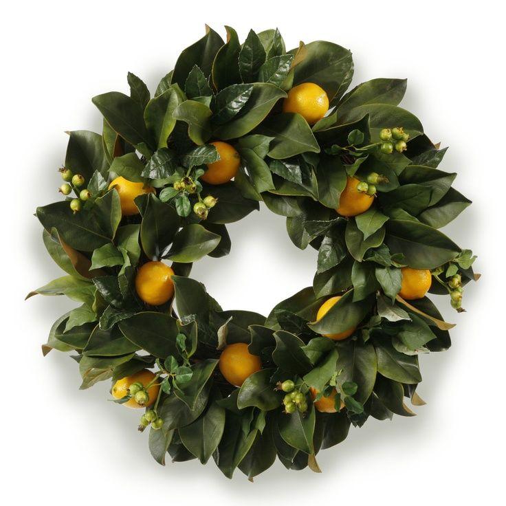 magnolia leaf christmas wreath - Yahoo Image Search Results ...