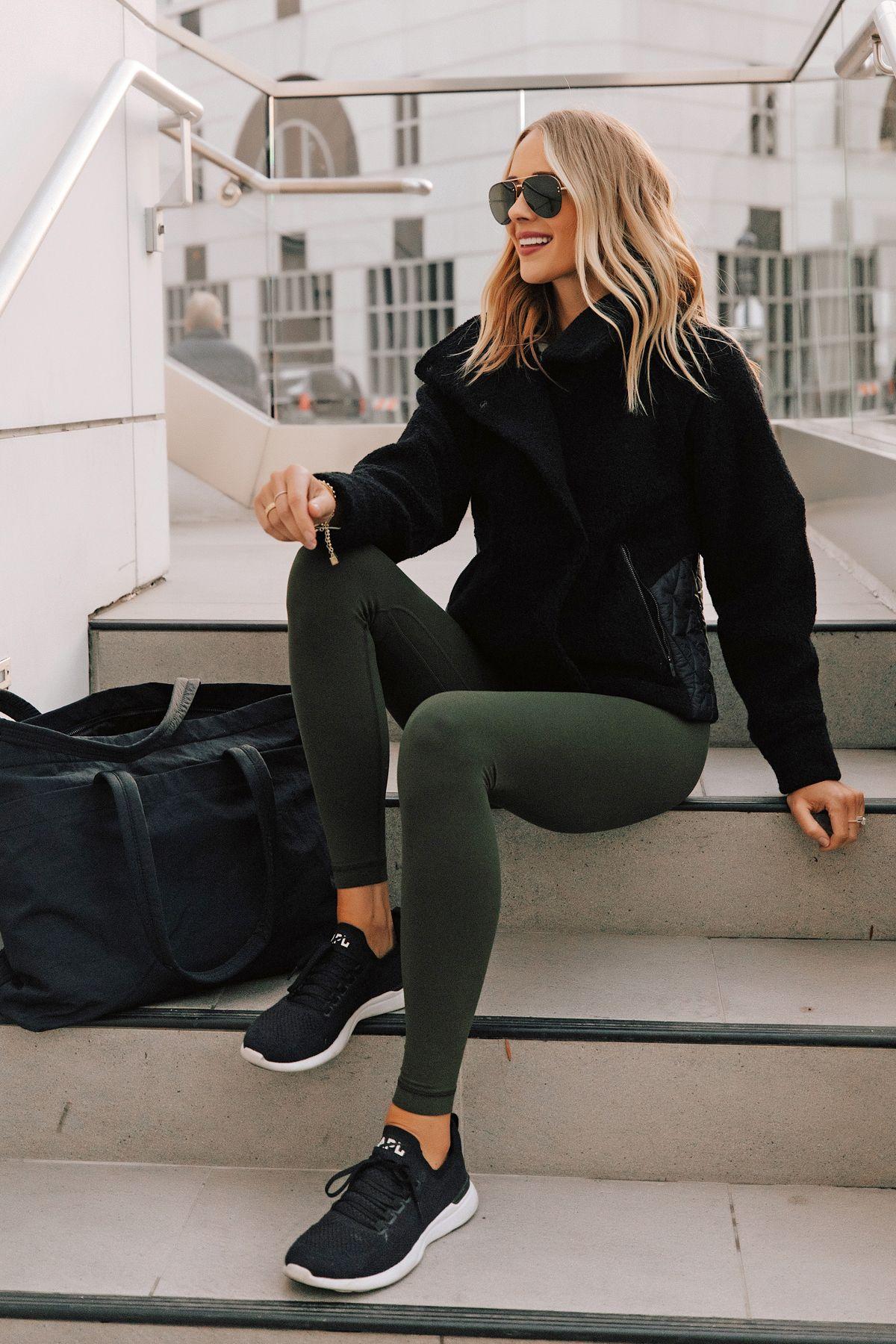 lululemon align leggings workout outfit | Fashion Jackson