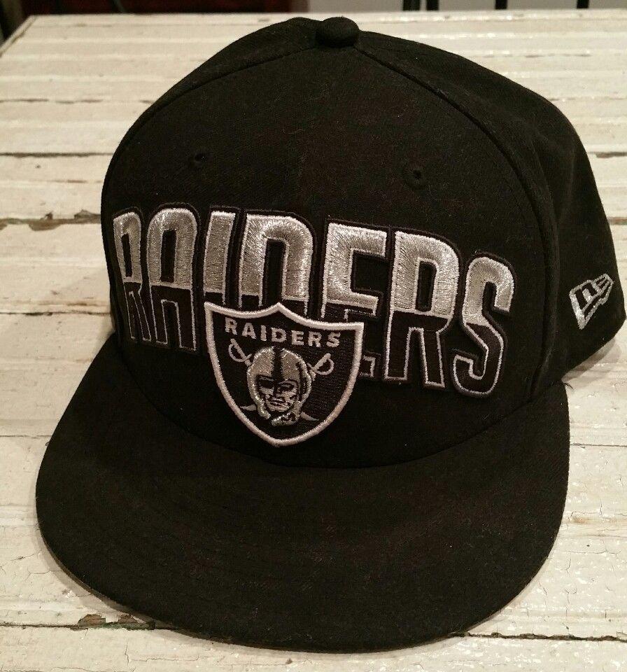 1b3b8079b Oakland Raiders Hat Cap Men s 7 5 8 - NFL Football New Era 59Fifty Los  Angeles  NewEra59Fifty  OaklandRaiders