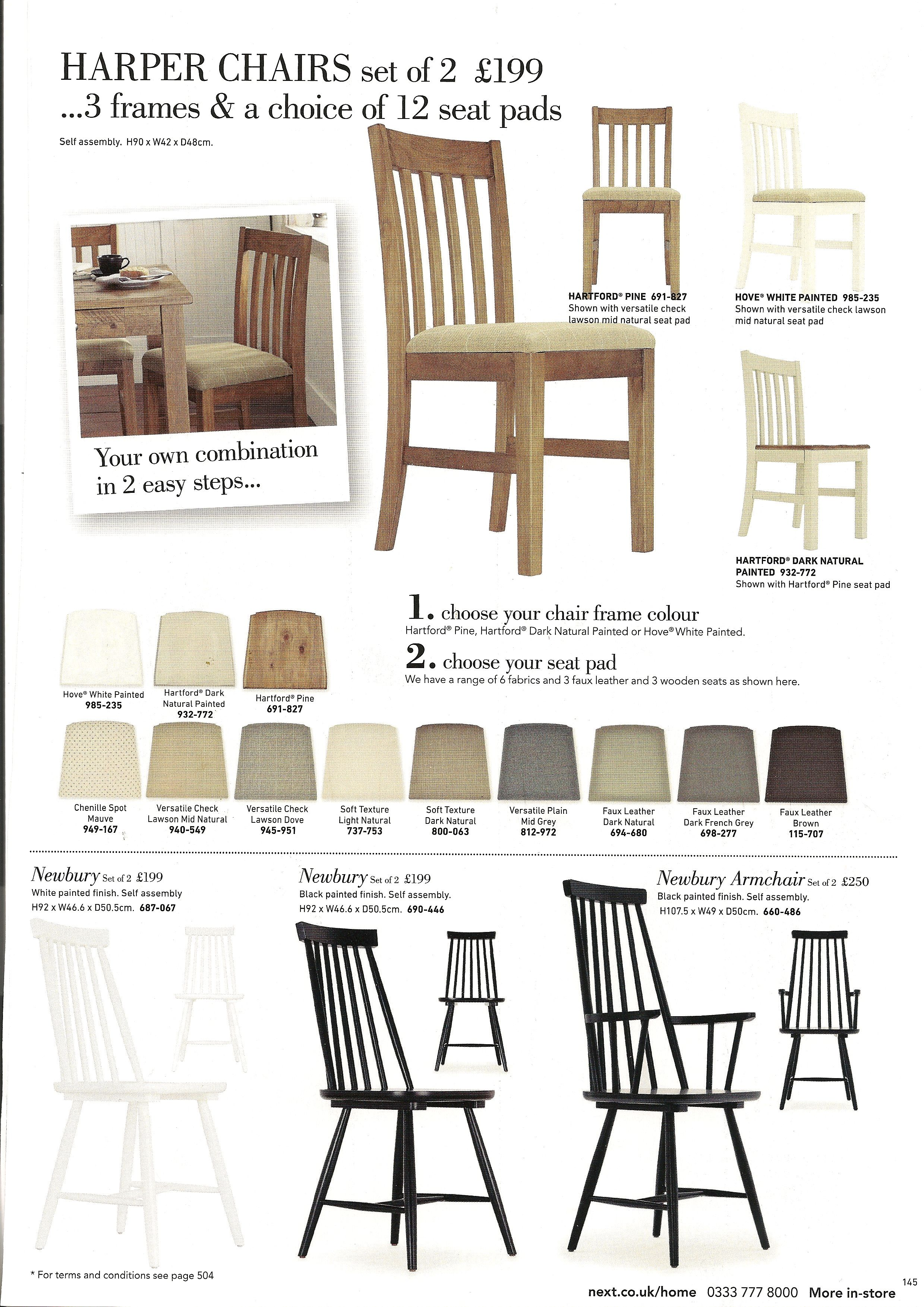 Klassische Sofas You Can Assemble Harper And Newbury Dining Chairs Next Pinterest Dining