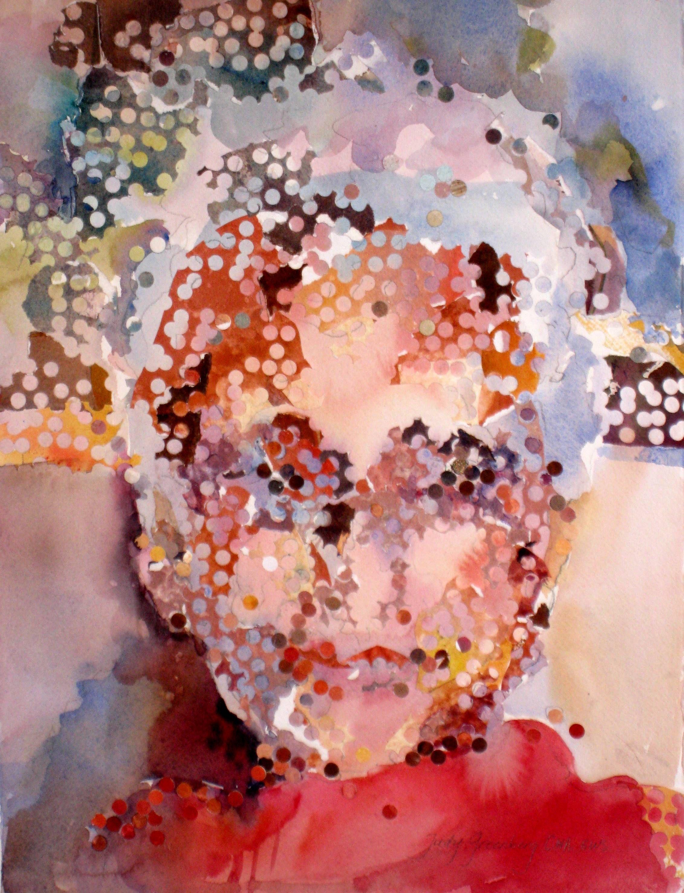 Judy Greenberg selfportrait