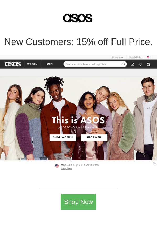 New Customers 15 Off Full Price In 2020 Asos Asos Women Coding