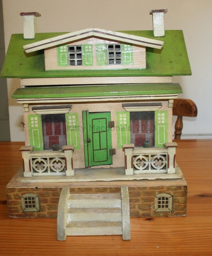 Early Albin Schönherr dolls houses