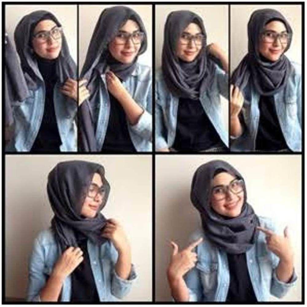 Gambar Hijab Tutorial Quick Tutorial Hijab