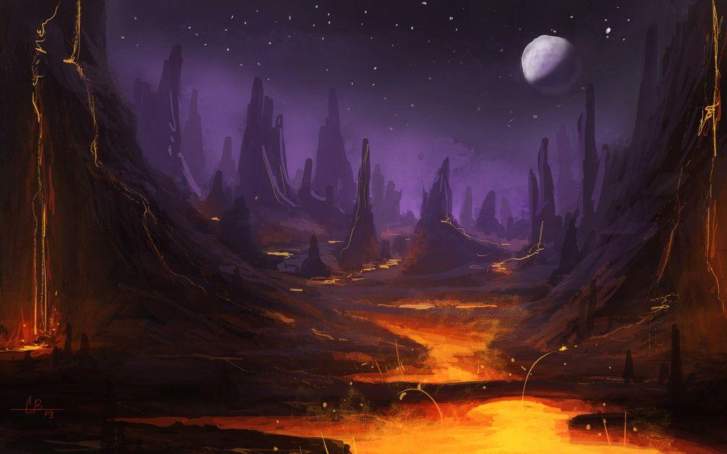 Desolate Concept Art