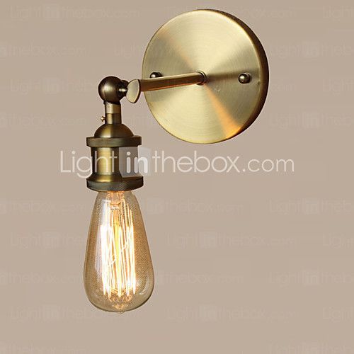 retro industrial style country metal wall lights restaurant cafe bars bar table minimalist wall sconces send 1 bulb - Minimalist Cafe 2016