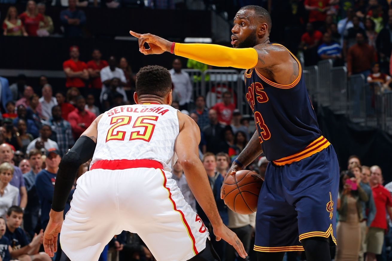 2016 NBA Playoffs Atlanta Hawks vs Cleveland Cavaliers