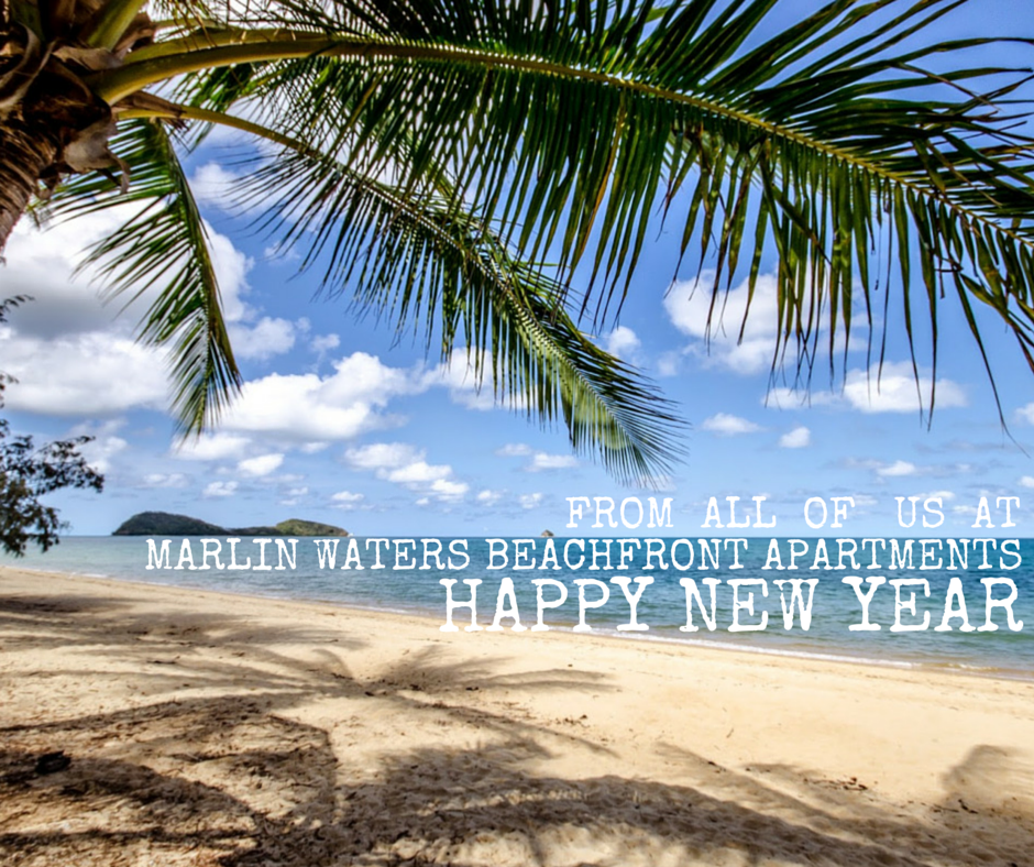 From All Of Us At Marlin Waters Beachfront ApartmentsHappy New Year