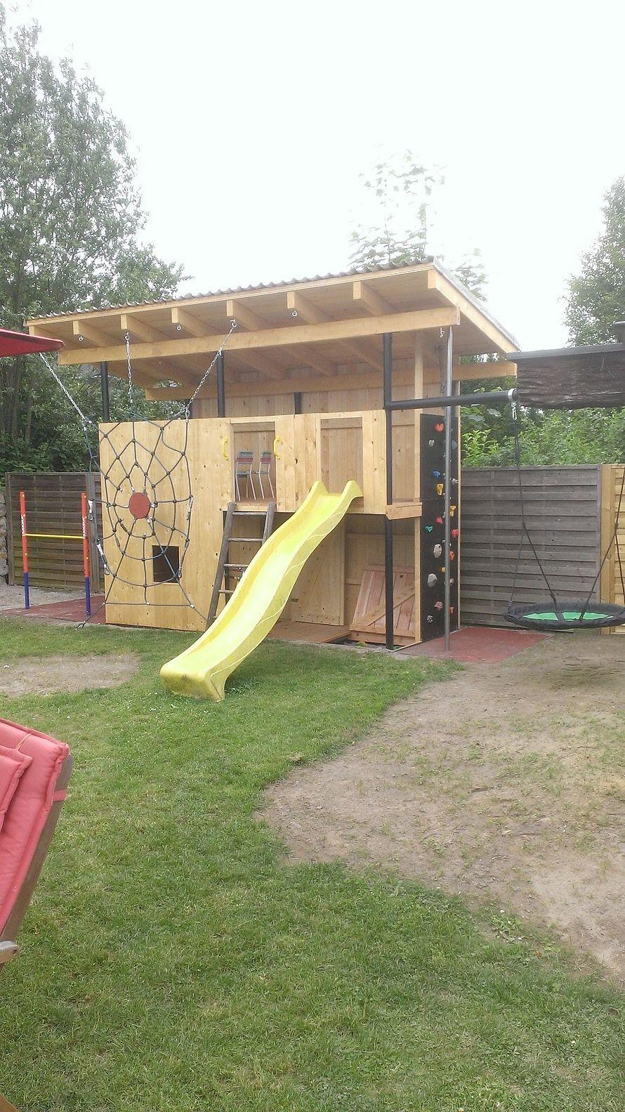 Spielhaus für meine Tochter Hinterhof spielplatz