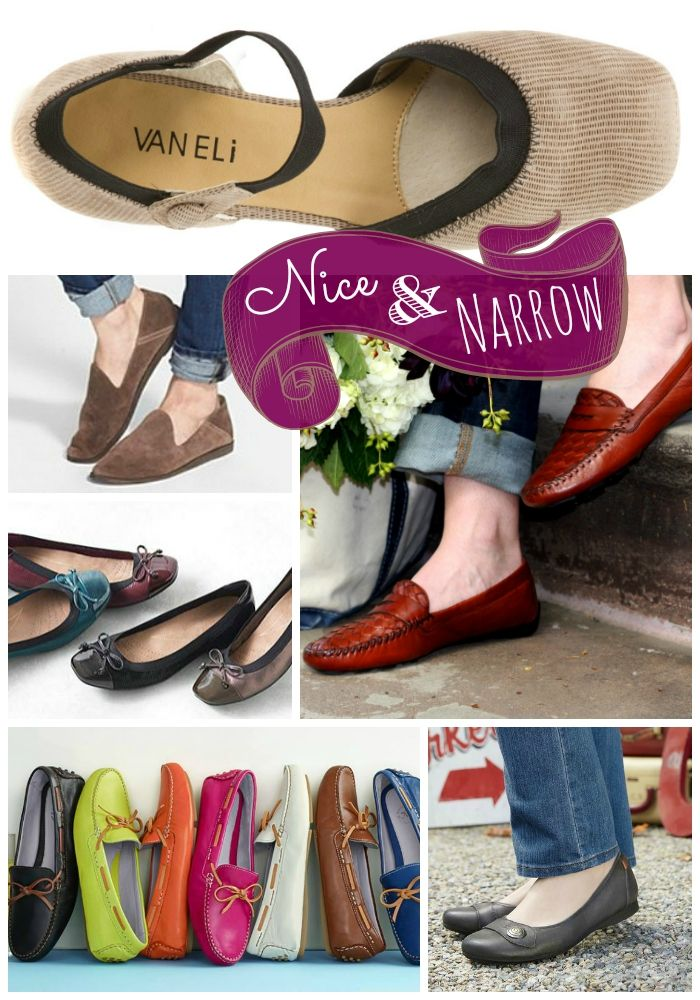 Womens Narrow Shoes  9afc7cc32
