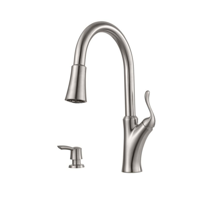 Pfister Eagan Stainless Steel One Handle Pull Down Kitchen Faucet