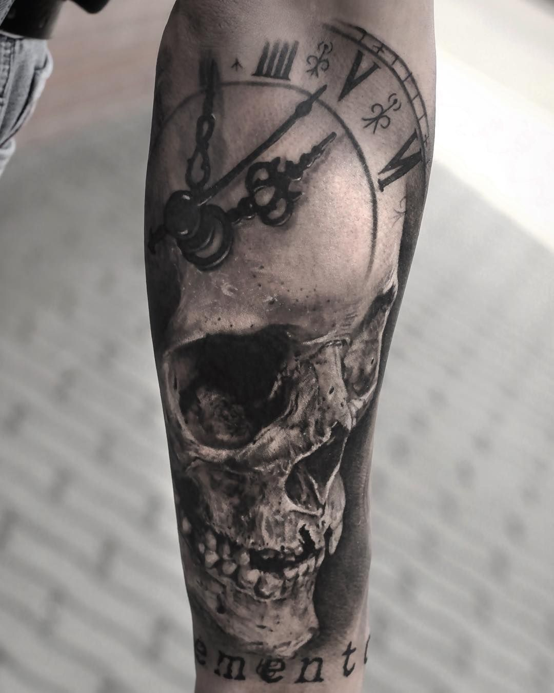 Skull tattoo by Stefan Müller | Best tattoos | Pinterest | Tattoo ...