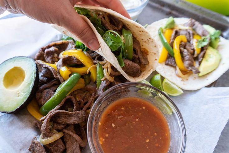 Easy Beef Fajita Recipe – Fajita Tacos #beeffajitarecipe This beef fajita reci... - Brox #steakfajitarecipe Easy Beef Fajita Recipe – Fajita Tacos #beeffajitarecipe This beef fajita reci... - Brox -  #Beef #beeffajitarecipe #Brox #beeffajitarecipe