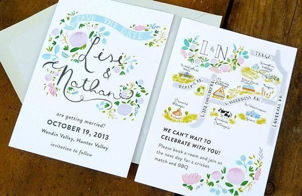 Charming Wedding Invitations From Jolly Edition - Weddbook ...