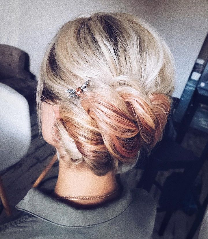 beautiful wedding hairstyles | Bridal updo hairstyle ideas | fabmood.com #weddinghair #harido #besthairstyle #hairstyle #hairstyleideas #weddingupdo #upstyle #bridalupdo #weddinghairstyles #updoideas #bohohairstyle #updowedding #updos