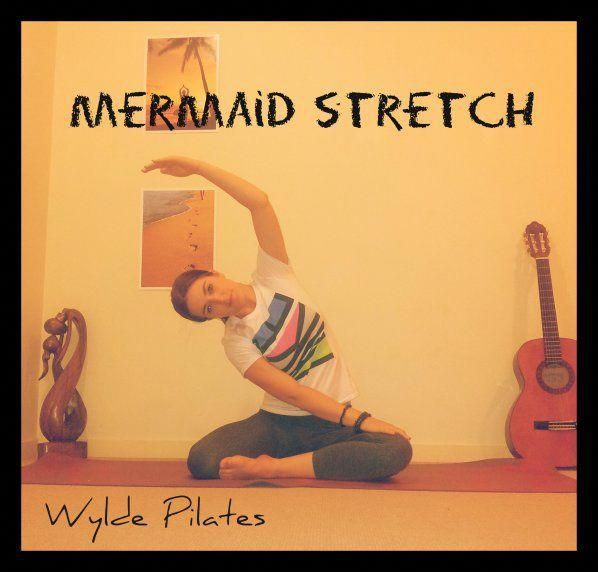 MERMAID STRETCH: Lumbar Spine, Quadratus Lumborum (lower