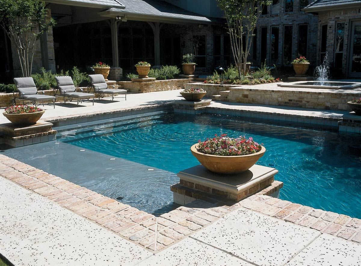Swimming pool coping genie pools floridagenie pools for Pool design florida