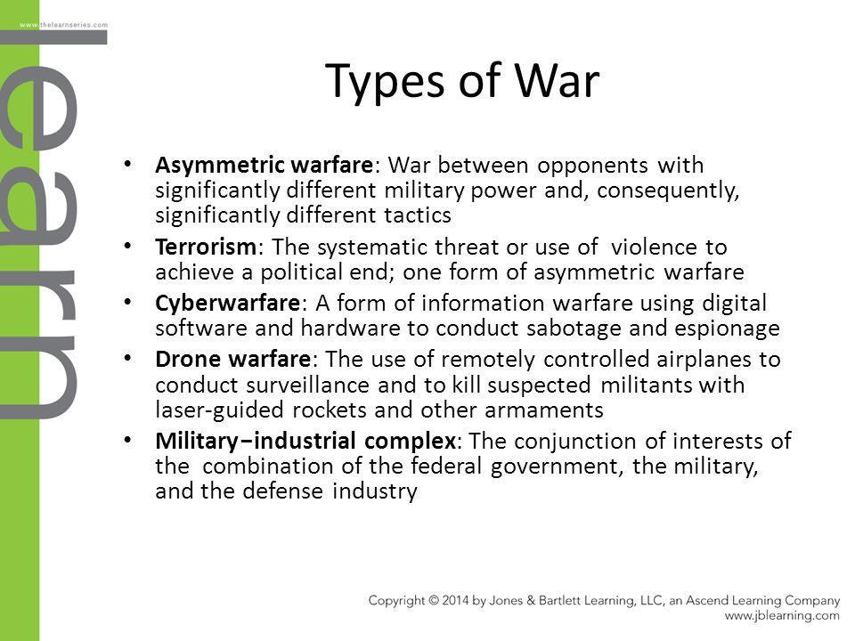 23 Types of War Asymmetric warfare: ... | War, Informative, Warfare