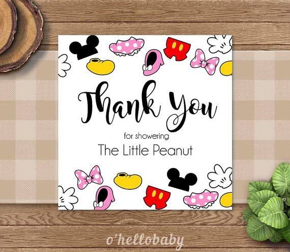 disney thank you cards