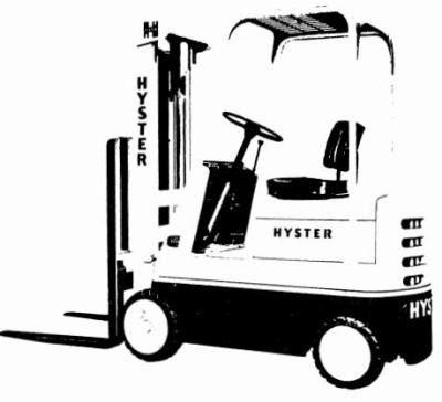 Hyster Forklift Truck C002 Series: S30B, S30C, S40B, S40C