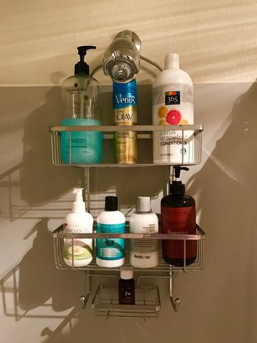Rockford Shower Caddy | Small shelves, Container store and Bath ...