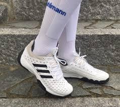 llegar No lo hagas Partina City  Fencing Shoe - Adidas 'Fencing Pro' size 12.5 only White with black  trim-Close out   Black trim, Fencing shoes, Adidas shoes