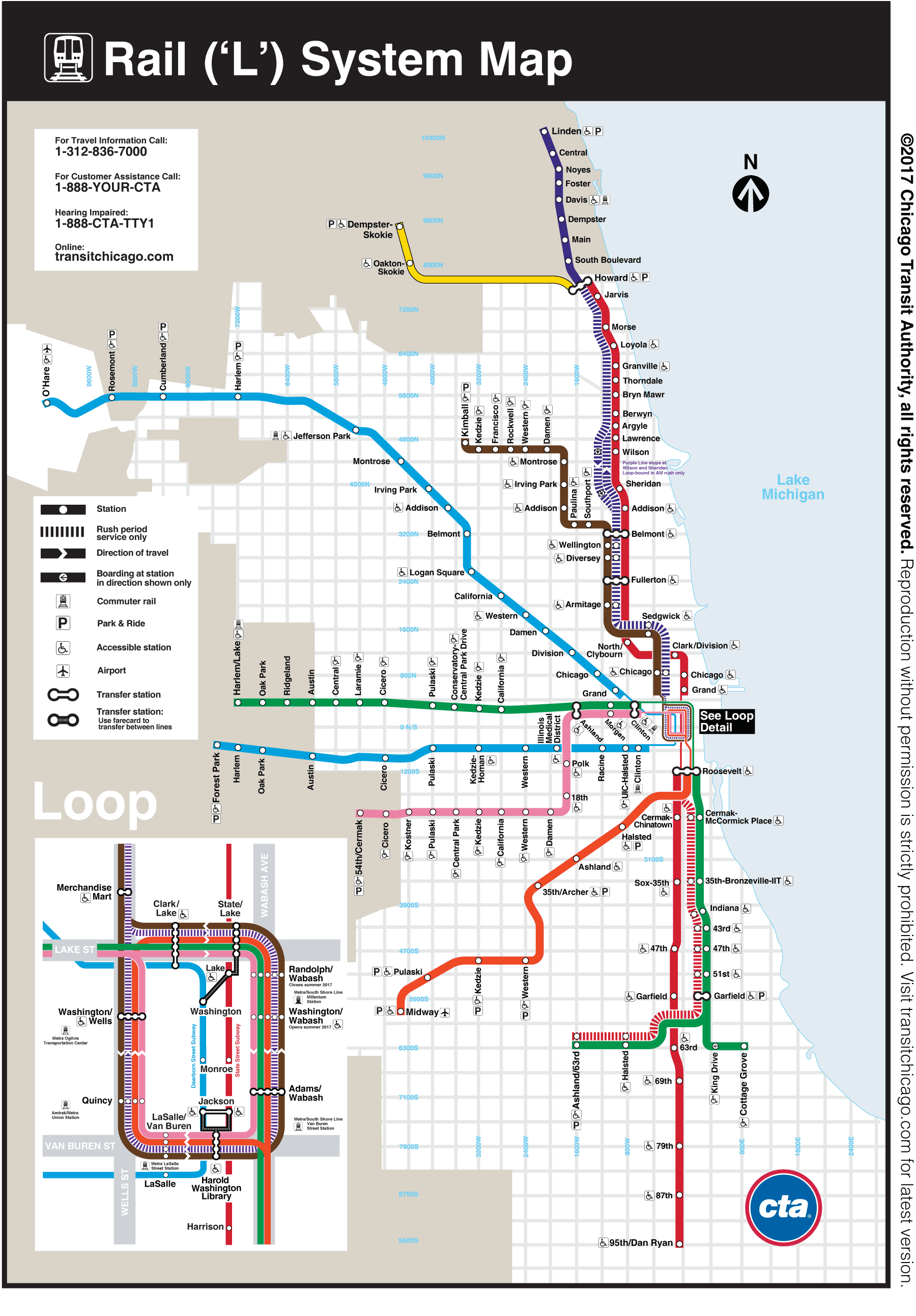 Chicago Trains Map Pin by Karen McCartney on Directions/