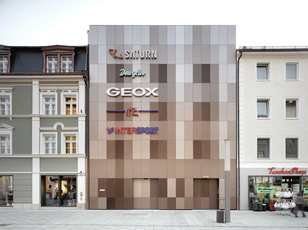 Architekten Passau auer weber architekten bda projekte ece stadtgalerie passau