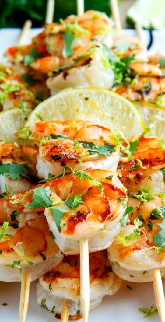 Cilantro Lime Grilled Shrimp | World Recipe Collection