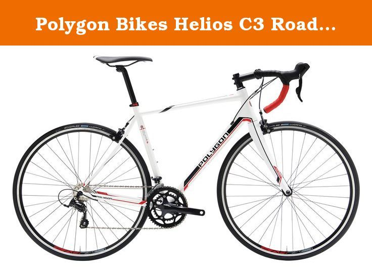 Polygon Bikes Helios C3 Road Bicycles White Red 56cm Large The Helios C3 Road Bike Is The Ultimate Comfort Machine For Long Polygon Bikes Bike Road Bicycle