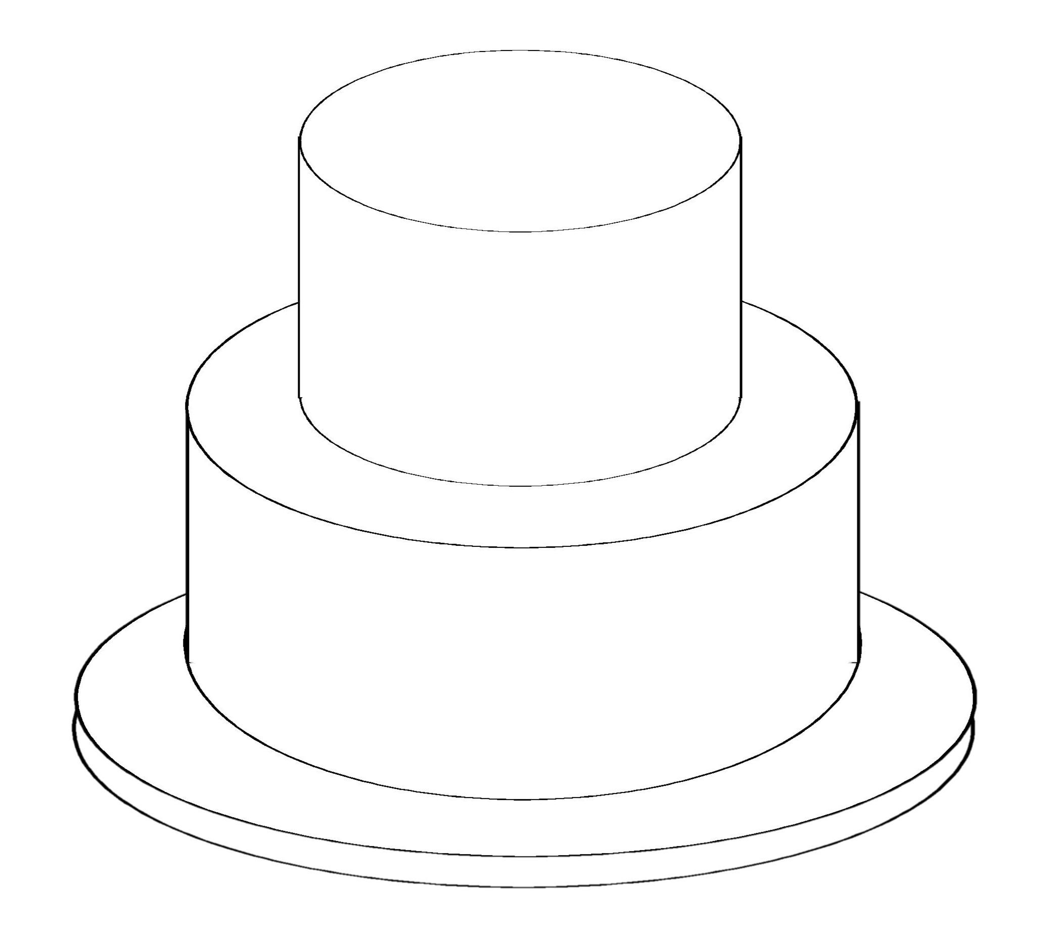 number 2 cake template - round cake baking and serving guides this link tells you