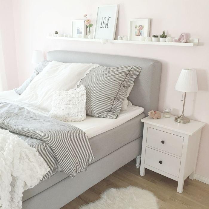 wir bauen ein haus schlafzimmer boxspringbett sch ner wohnen pinterest schlafzimmer. Black Bedroom Furniture Sets. Home Design Ideas