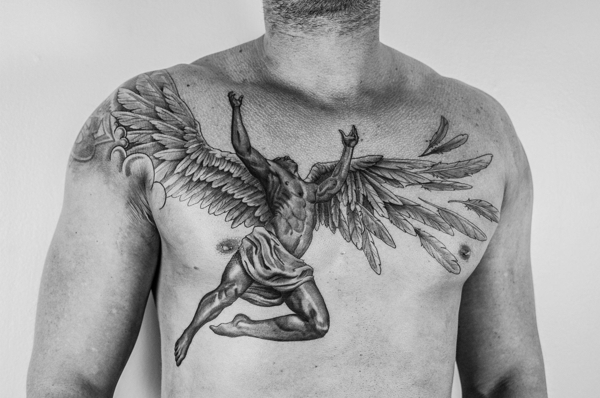 43+ Icarus tattoo ideas