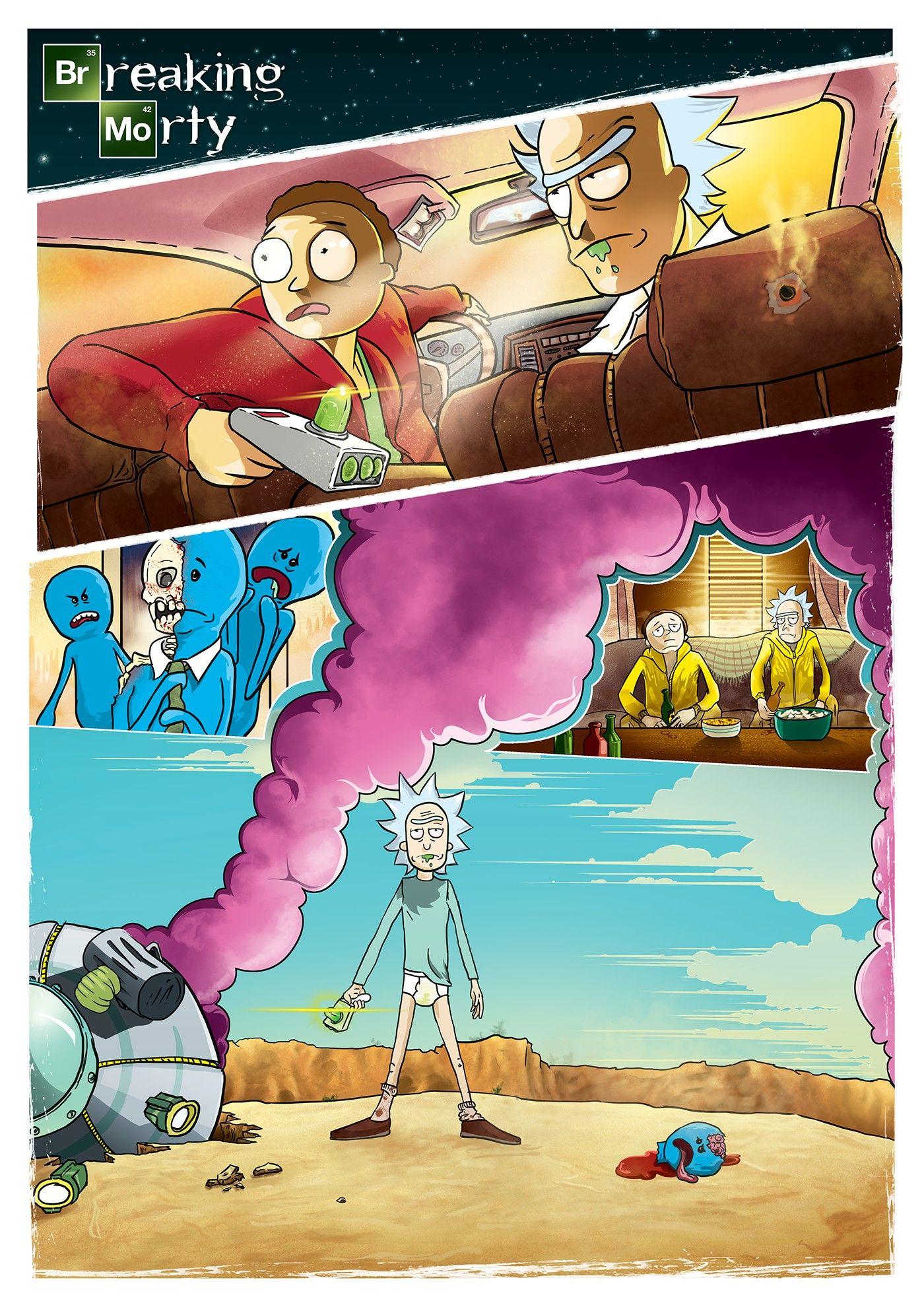 Rick And Morty Rick And Morty Desenhos Animados