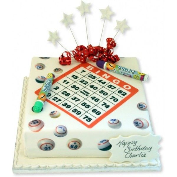 Bingo Cake Delivery In UK