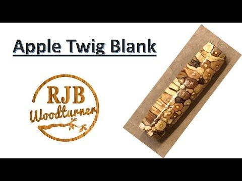 Apple Twig Blank YouTube Twig, Wood pens, Apple