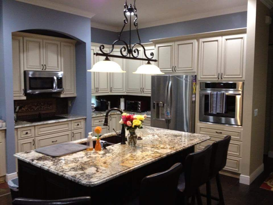 Full Kitchen Remodeldesign And Installationfournier Custom Amazing Custom Design Kitchen Design Inspiration