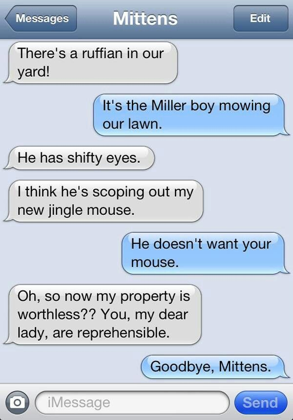 Someone just doesn't understand the value of a jingle mouse.
