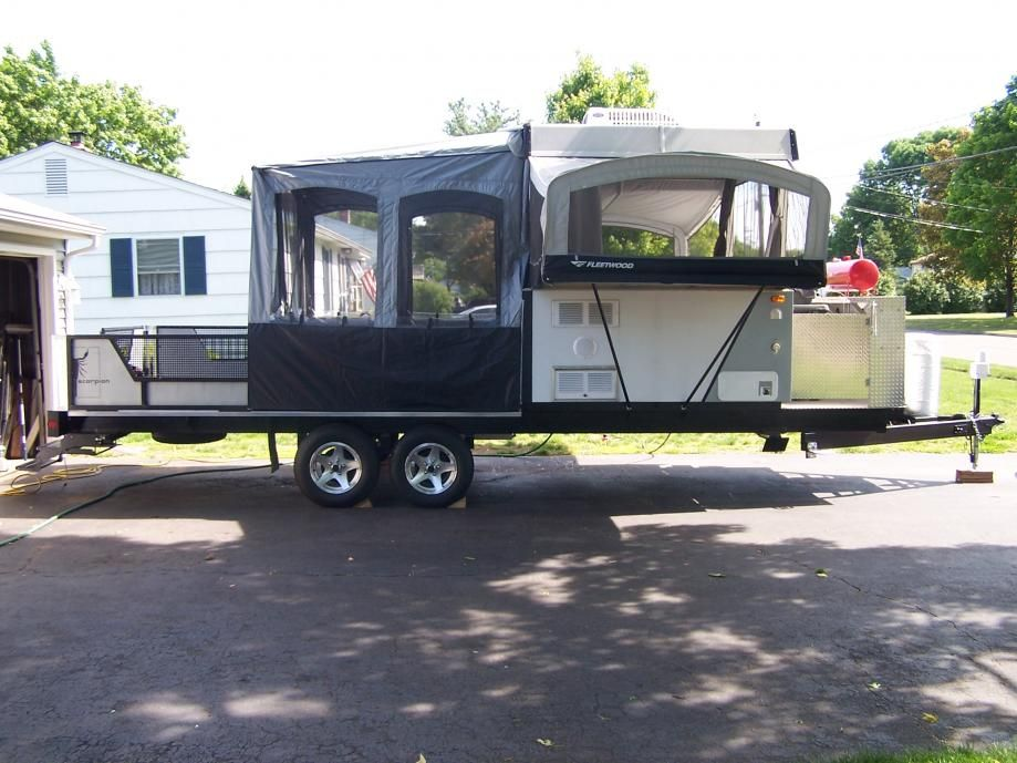 Pin by Wendy Poling on popup camper | Toy hauler camper
