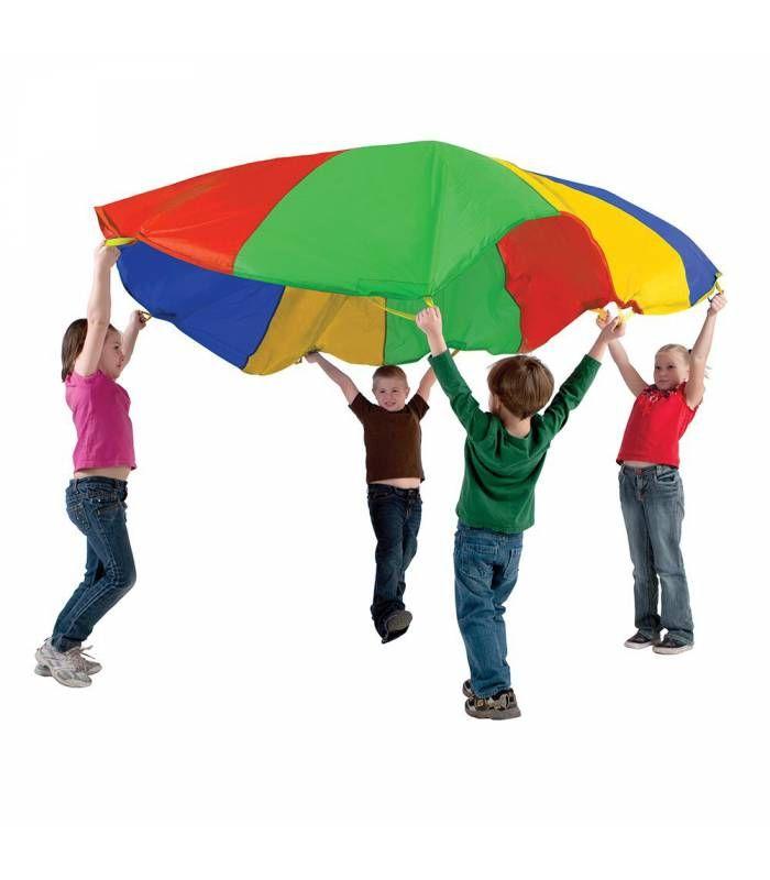 Paraca das o manta de colores para jugar al aire libre for Agarraderas para ninos